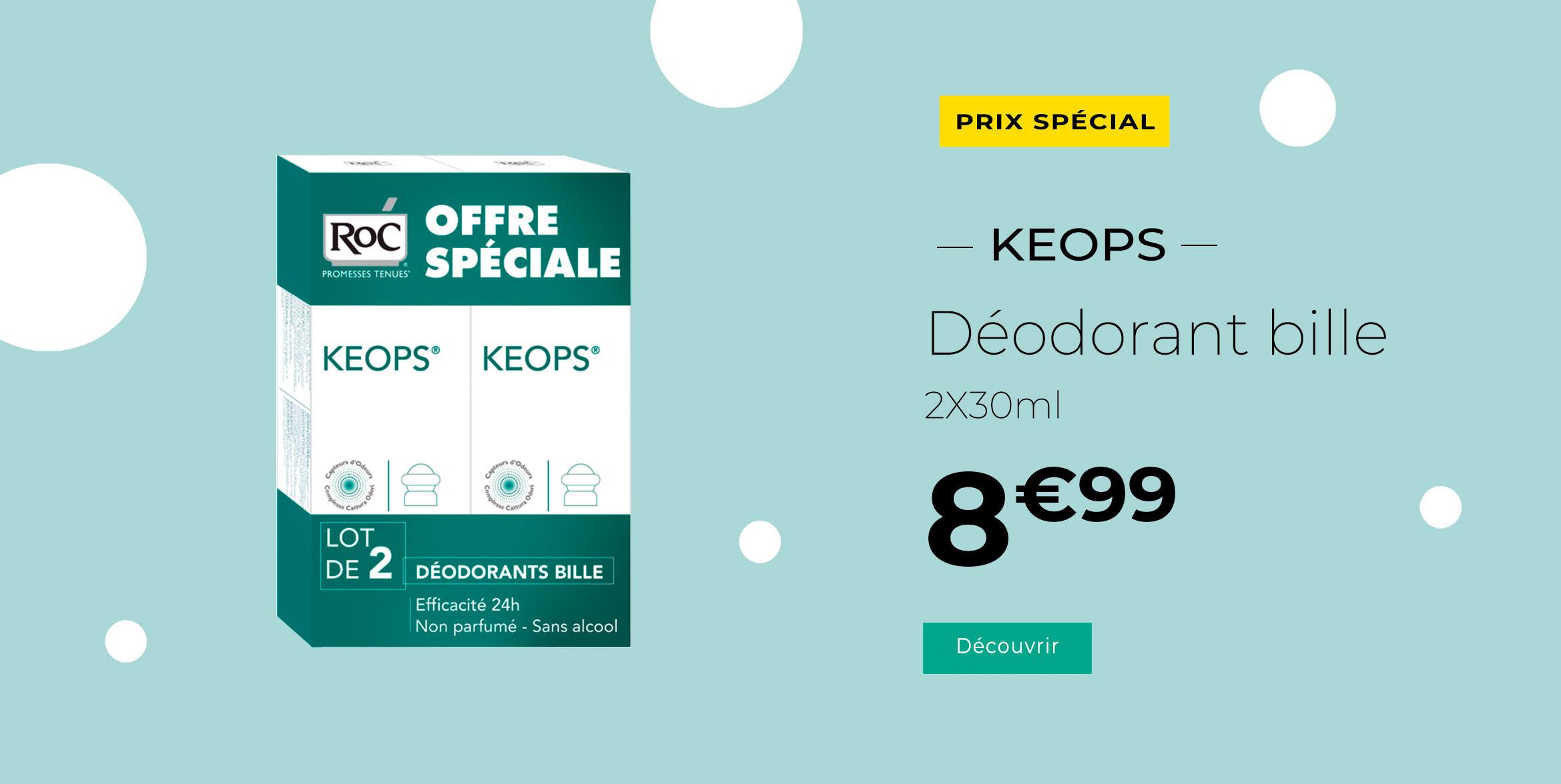 Offre spéciale Keops